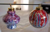 Halo Luster and Ball Ornament